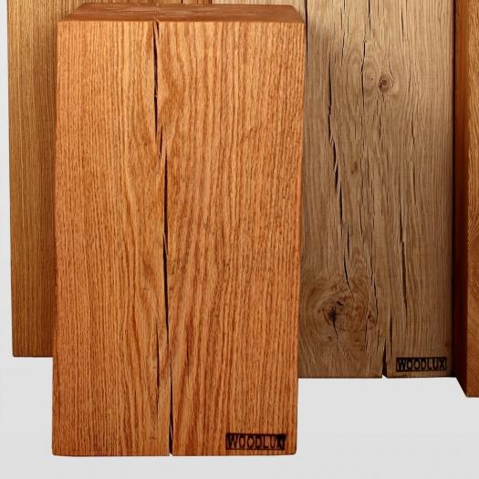 Tabouret en bois chêne
