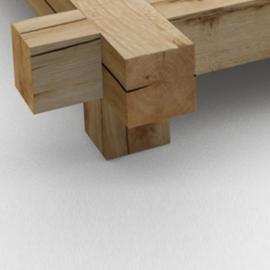 2 pieds cubiques en bois