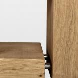 Étagère en bois de poutre