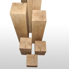 Holzpodest 15cm x 15cm