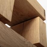 Tabouret design en chêne naturel