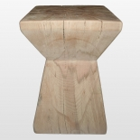 Design stool beech, without oil