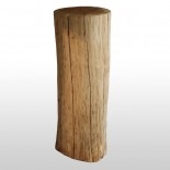 Tabouret d'arbre en chêne tronc de bois