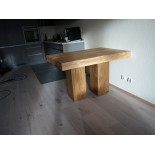Coffee table - Custom size with two legs