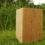 Tabouret en bois chêne hauteur 45cm