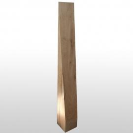 Stèle  en bois pointue