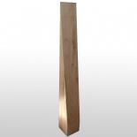 Wooden stele pointed ground
