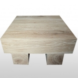 Coffee table 4Square square extra solid ground