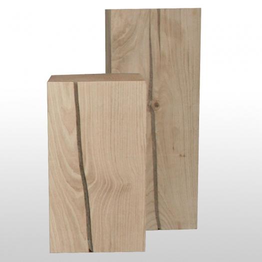 Holz Säule Eiche 25cm x 25cm geschliffen