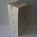Bloc en bois 20x20x45cm érable