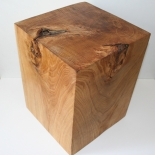 30 X 30 x 40 wood stool oak