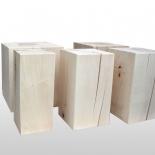 Tabouret en bois bloc érable hauteur 45cm