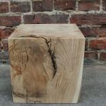 Holzblock Würfel 30x30x30 Eiche