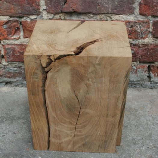 Plate-forme en bois 21x24x29 chêne