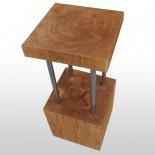 Tabouret de bar en bois de chêne