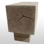 Banc en bois de tronc 1Block