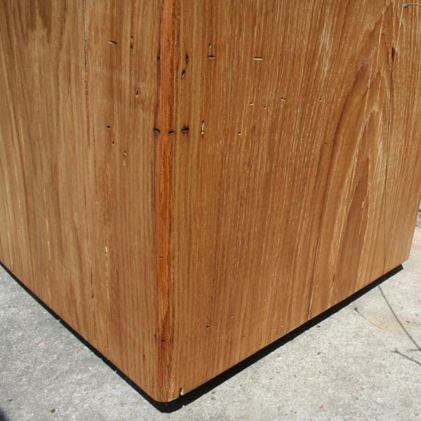 Holzblock couchtisch 40cm x 40cm x 40cm - Couchtisch holzblock ...