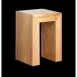 Wood bar stool oak 45 cm height