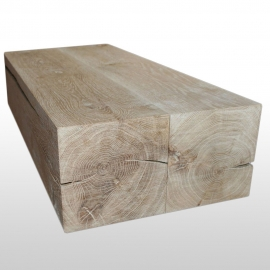Table basse 30cm du tronc