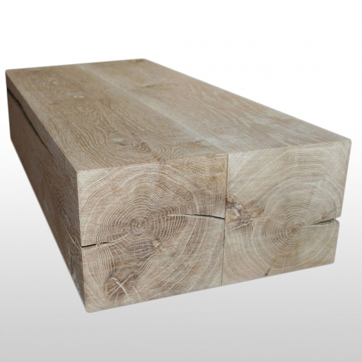 Coffeetable aus Baumstamm