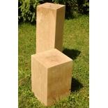 Socle de galerie en bois 30cm x 30cm