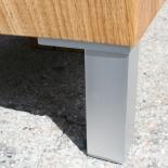 Holz Klotz Beistelltisch Eiche Design 2