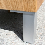 Holz Klotz Beistelltisch Design 2