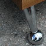 Holz Klotz Beistelltisch Eiche Design 3