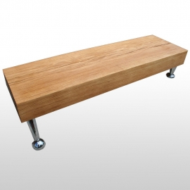 Table basse poutre tronc d'arbre